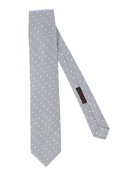 Luigi Bianchi Mantova Ties Light Grey