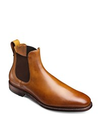 Allen Edmonds Liverpool Leather Slip On Boots Walnut