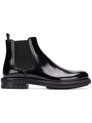 Dolce And Gabbana Ankle Boots Black