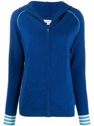 Chinti And Parker Zipped Hoodie Blue
