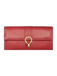 Dickins And Jones Holly Foldover Purse Red