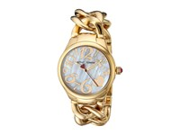Betsey Johnson Bj00297 12 Gold Link Gold Watches