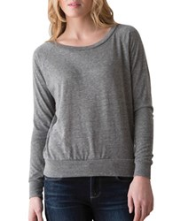 Alternative Apparel Slouchy Solid Pullover Eco Grey