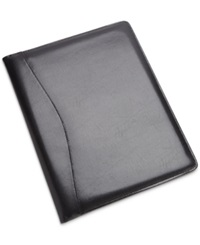 Royce Leather Executive Writing Padfolio And Document Organizer Black