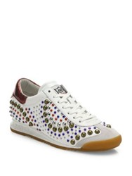 Ash Sound Studded Sneakers Off White White