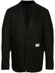Makavelic Lined Tailored Jacket Black