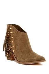 Fergie Bennie Studded Boot Brown