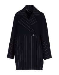 Max And Co. Coats Dark Blue