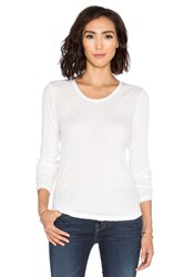 Rvca Base Layer Long Sleeve Top White