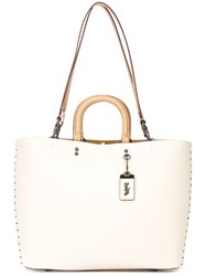 Coach Market Tote Nude And Neutrals