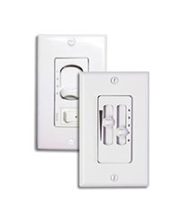 Modern Fan 002 Speed And Light Wall Control White