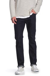 7 For All Mankind Standard Straight Leg Jeans Deep Well