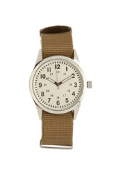 Forever 21 Canvas Strap Analog Watch