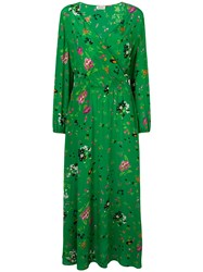 Zadig And Voltaire Rikko Floral Dress Green
