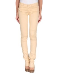 Mother Casual Pants Sand