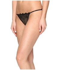 Only Hearts Club So Fine W Lace String Bikini Black Women's Underwear