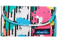 Kavu Big Spender Retro Palm Wallet Handbags Multi