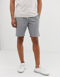 Hymn Seersucker Drawstring Shorts Grey