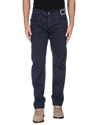 Camouflage Ar And J. Trousers Casual Trousers Men Blue