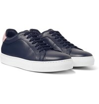 Paul Smith Basso Leather Sneakers Navy
