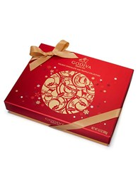 Godiva Holiday Assorted Chocolate Gift Box No Color
