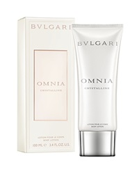 Bulgari Bvlgari Omnia Crystalline Body Lotion No Color