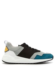 Buscemi Ventura Tricolour Trainers Black Multi