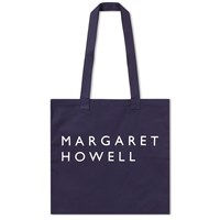 Mhl By Margaret Howell Mhl. Cotton Drill Tote Bag Blue