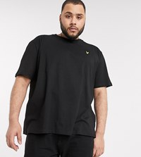 Lyle And Scott Logo T Shirt In Black
