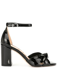 Sam Edelman Odina Knot Block Sandals Black