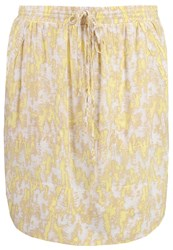 Noa Noa Mini Skirt Yellow