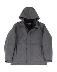 Hawke And Co Three In One Softshell System Jacket Black Grunge