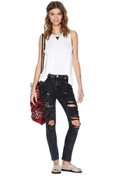 Nasty Gal One Teaspoon Le Hawk Trashed Runaway Jeans