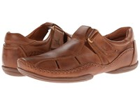 Pikolinos Puerto Rico Fisherman 03A 6745 Cuero Leather Men's Slip On Shoes Brown