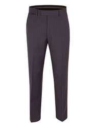 Pierre Cardin Stripe Suit Trousers Navy