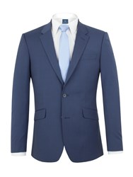Aston And Gunn Blackley Puppytooth Tailored Jacket Blue