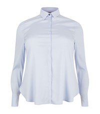 Basler Silk Shirt Female Blue