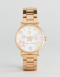 Marc Jacobs Classic Mj3580 Bracelet Watch In Rose Gold Rose Gold