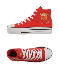 Happiness Footwear High Tops And Trainers Women Red