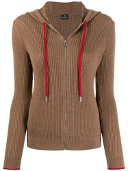 Paul Smith Ps Hooded Zip Through Sweater 60