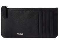 Tumi Mason Long Zip Card Case Black Credit Card Wallet