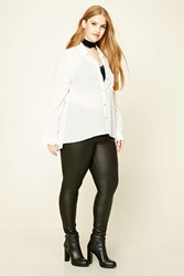 Forever 21 Plus Size Faux Leather Pants