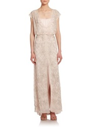 Needle And Thread Aura Maxi Dress Light Pink