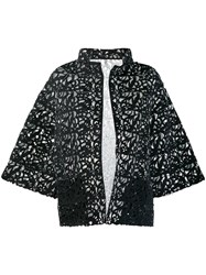 Gianluca Capannolo Cut Out Jacket Black