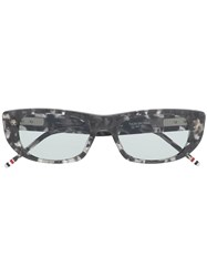 Thom Browne Eyewear Tortoise Sunglasses Grey