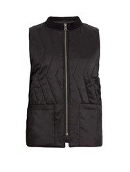 Saturdays Surf Nyc Nazar Quilted Nylon Gilet Black