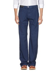 Versace Sport Casual Pants Blue
