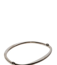 Lanvin Gun Metal Jointed Bracelet Black