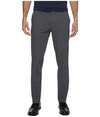 Dockers Premium Insignia The Khaki Slim Tapered Black Rockland Plaid Men's Casual Pants Gray