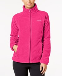 Columbia Benton Springs Fleece Jacket Bright Rose